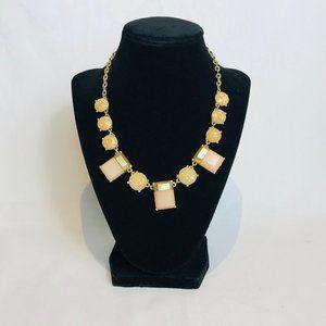 J.Crew Beige & Gold Necklace #74